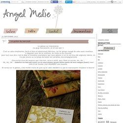 Le goûter du mercredi - Angel Mélie