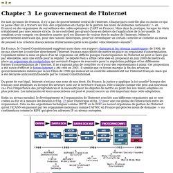 Le gouvernement de l'Internet
