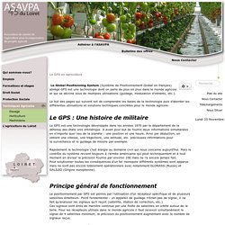 Le GPS en agriculture