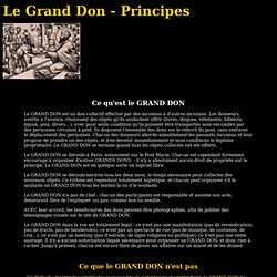 Le Grand Don