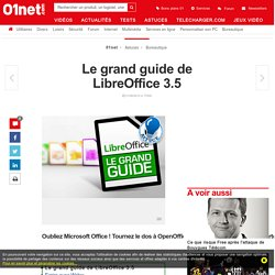 Le grand guide de LibreOffice