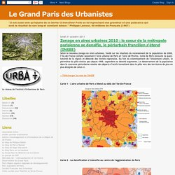 Le Grand Paris des Urbanistes