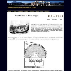 Le Grand théâtre de Pompéi