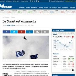 Le Grexit est en marche