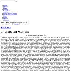Le Grotte del Montello