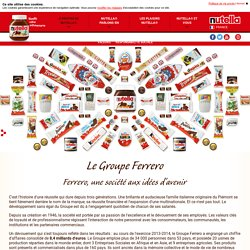 Le Groupe Ferrero - nutella.com
