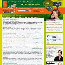 Le Guichet du Savoir -> Bibliothèques numériques