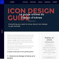 Le guide ultime du Design d'Icônes