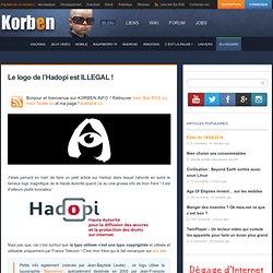 Le logo de l'Hadopi est ILLEGAL ?
