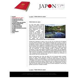 Le Japon : Petite histoire du Japon