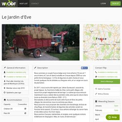 Le Jardin d'Eve — WWOOF France