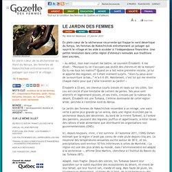 La Gazette des femmes : » Le jardin des femmes