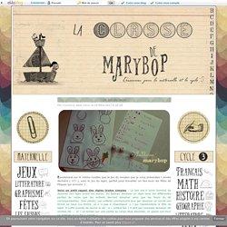 Le jeu du lapin - La Classe de Marybop