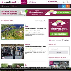 Le Journal du Geek - JDG Network - Part 2