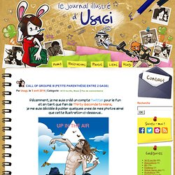 Le journal illustré d'Usagi