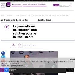 Le journalisme de solution, une solution pour le journalisme ?