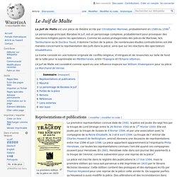Le Juif de Malte