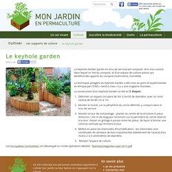 Le keyhole garden - monjardinenpermaculture.fr