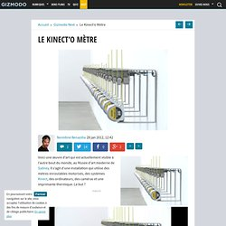 Le Kinect'o Mètre