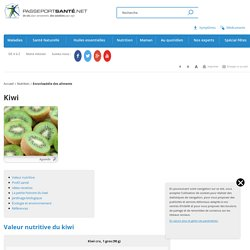 Le kiwi pour faire le plein de vitamine C