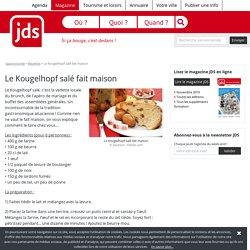 Le Kougelhopf salé fait maison