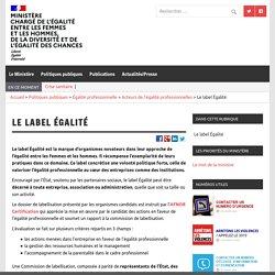 Le label Égalité