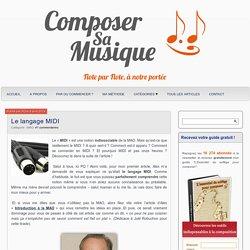 Le langage MIDI