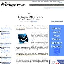 Le langage SMS en breton c'est à vous de le créer !
