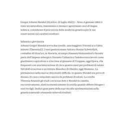 LE LEGGI DI MENDEL di Anna Andolfi