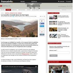 Le Lesotho investit dans les barrages