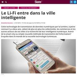 Le Li-Fi entre dans la ville intelligente