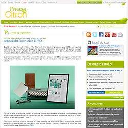 Le livre du futur, entre eBook et tablette