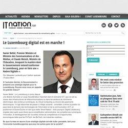 Le Luxembourg digital est en marche !