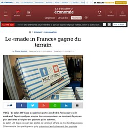 Le «made in France» gagne du terrain