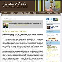 Le Mali, la France et les Extrémistes