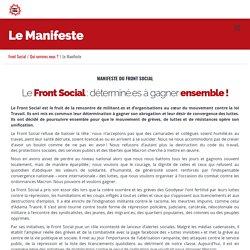 Le Manifeste