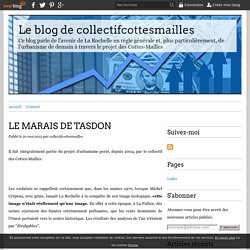 LE MARAIS DE TASDON - Le blog de collectifcottesmailles