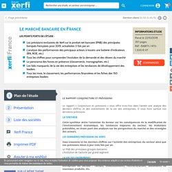 Le marché bancaire en France