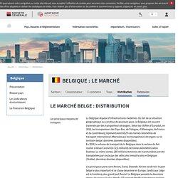Le marché belge : Distribution