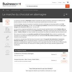 Le Marche du Chocolat en Allemagne