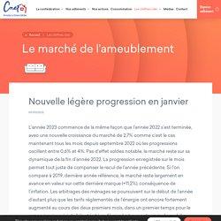 Le marché de l'ameublement - La CNEF La CNEF