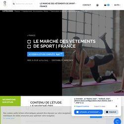 Le marché des vêtements de sport - France