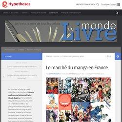 Le marché du manga en France