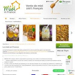 Le marché du miel en France - MIEL IN FRANCE