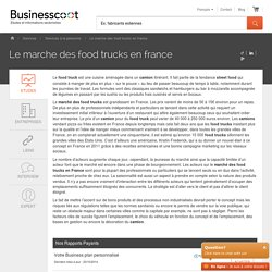 Le Marche des Food Trucks en France