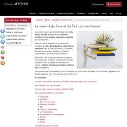 Le marché du livre et de l'édition en France
