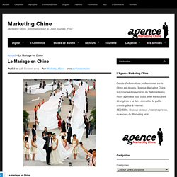 Le Mariage en Chine
