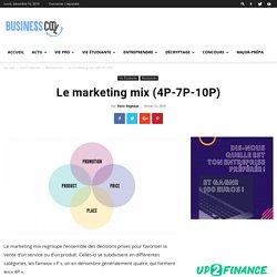 Le marketing mix (4P-7P-10P)