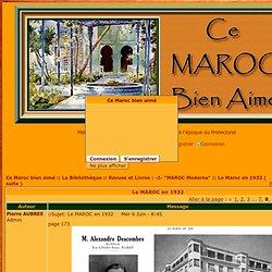 1932 - Le MAROC en 1932 - Page 8