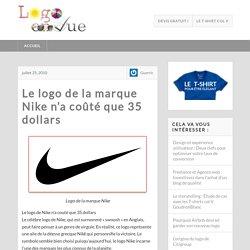 Le logo de la marque Nike n'a coûté que 35 dollars